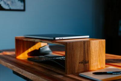 Solid Wood Monitor Riser